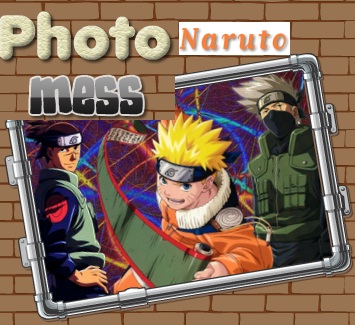 Naruto Photo Mess