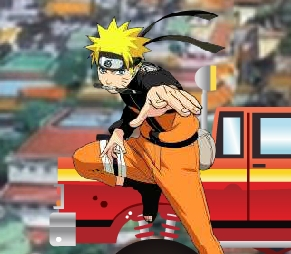 Naruto Monster Car 2 In Konoha